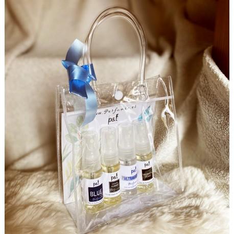 Set regalo 4 perfumes Hombre by p&f Perfumia, vaporizador